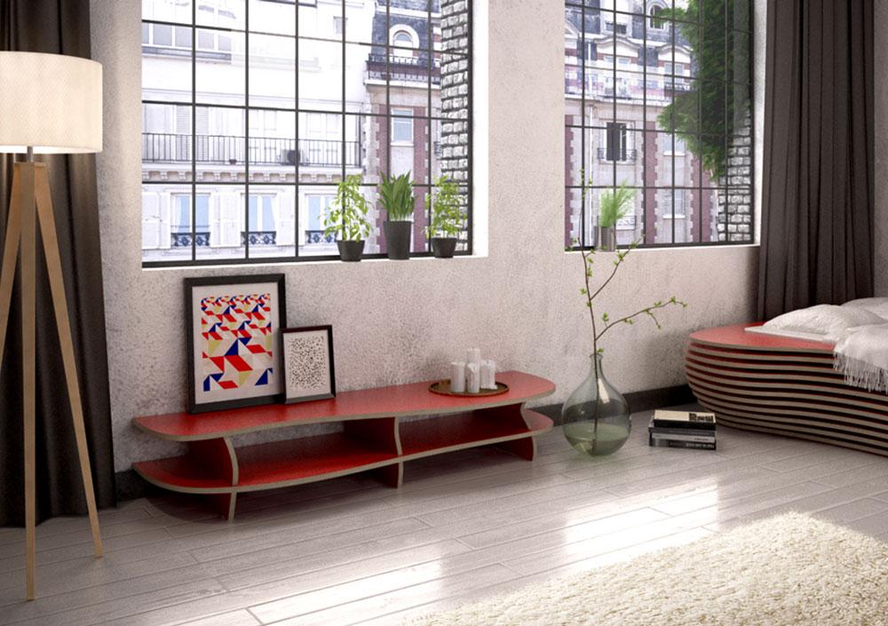 Lowboard-red-carpet